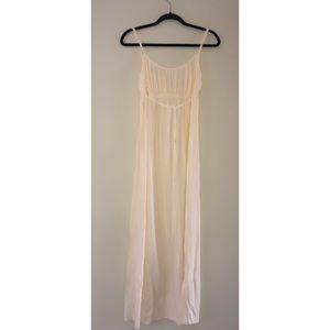Women's Ivory long maxi dress